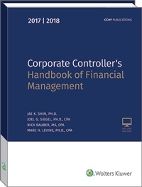 cch cpelink corporate controller s handbook of financial