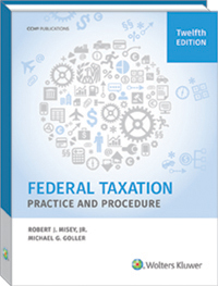 Cch cpelink federal taxation practice and procedure 12th edition federal taxation practice and procedure 12th edition fandeluxe Images