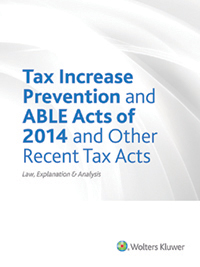 Cch cpelink tax increase prevention and able acts of 2014 and tax increase prevention and able acts of 2014 and other recent tax acts law explanation analysis fandeluxe Images