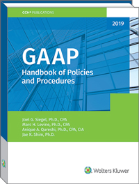 GAAP Handbook of Policies and Procedures (2019)