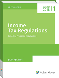 Income Tax Regulations (Summer 2018)