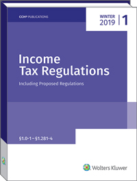 Income Tax Regulations (Winter 2019)
