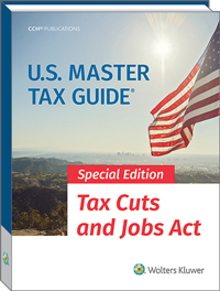 U.S. Master Tax Guide Special Edition