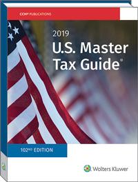 U.S. Master Tax Guide® (2019)