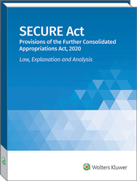 SECURE Act 2020: Law, Explanation and Analysis