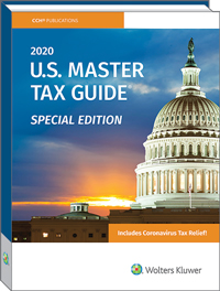 US Master Tax Guide Special Edition