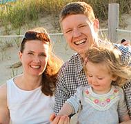 Jason, Maureen & Annalise - Hopeful Adoptive Parents