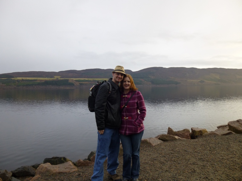 At Loch Ness in Scotland, no monsters this time!