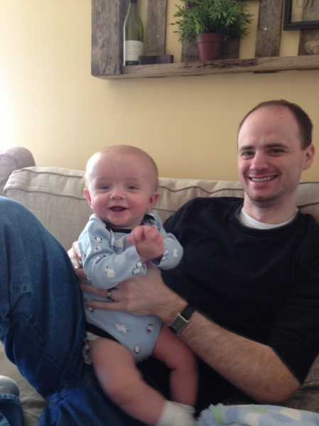 Mike & one of our 5 nephews!