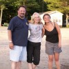 Dad, Mom & Me on vacation