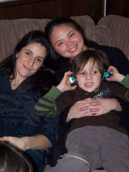 Me, Sister-in-Law & Nephew