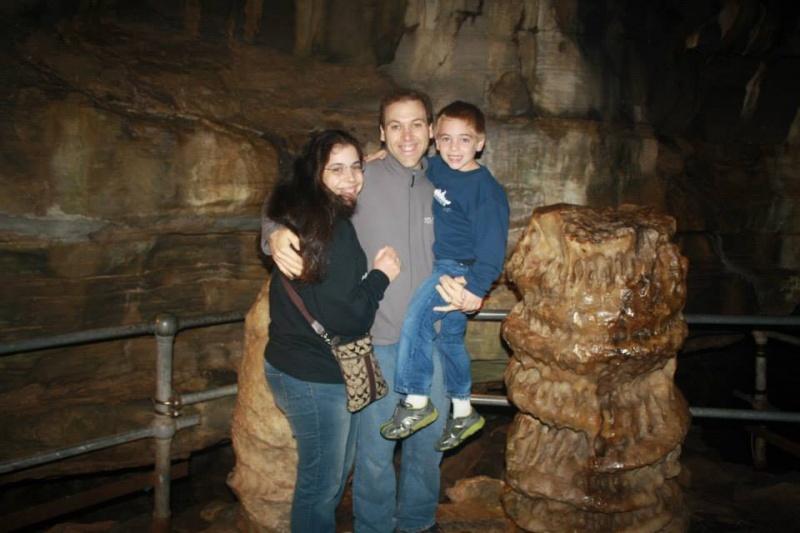 Visiting Howe Caverns
