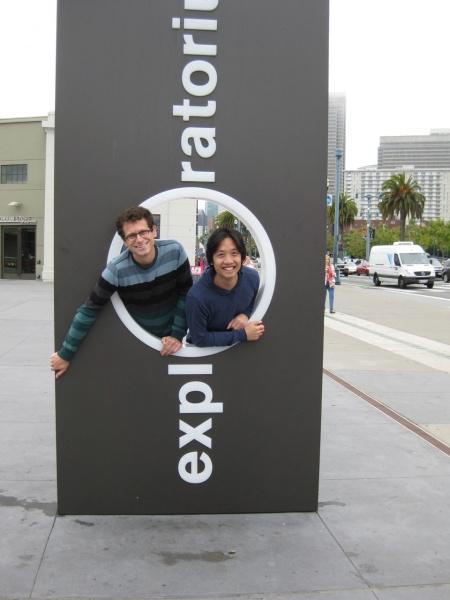 Exploring the Exploratorium, San Francisco