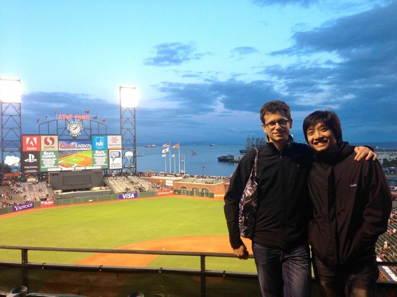 Post San Francisco Giants game at AT&T Park