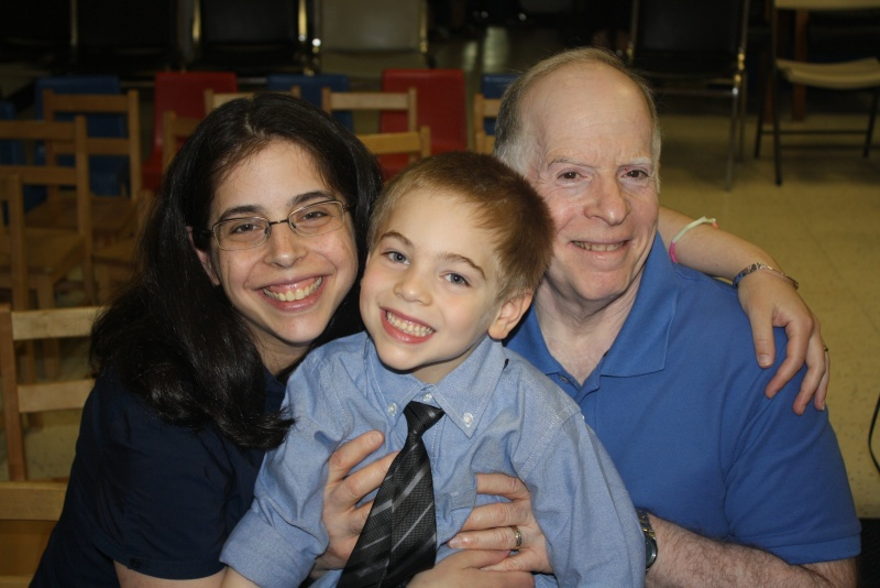 Celebrating Pre-K Graduation with Grandpa Phil!