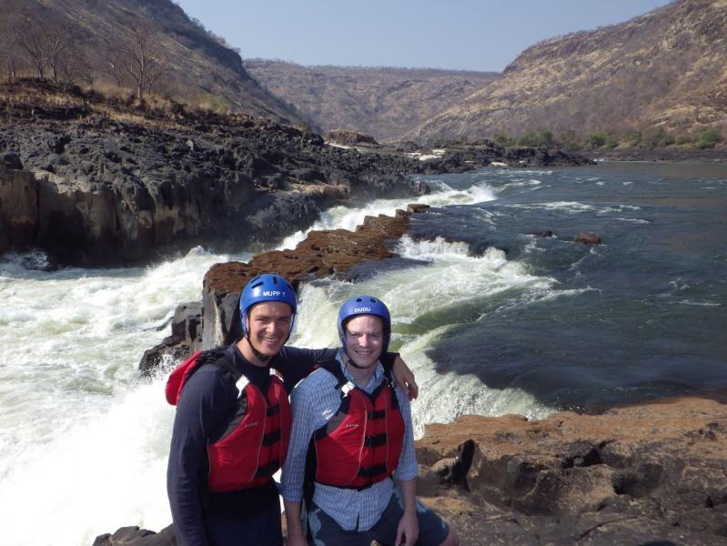 Rafting in Africa