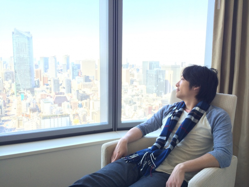 Lounging in Tokyo