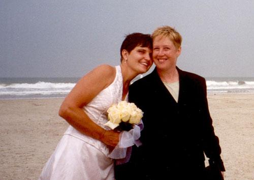 Cindy & Marianne's Wedding Day, August 2000