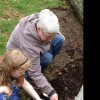Getting some help planting seeds :)
