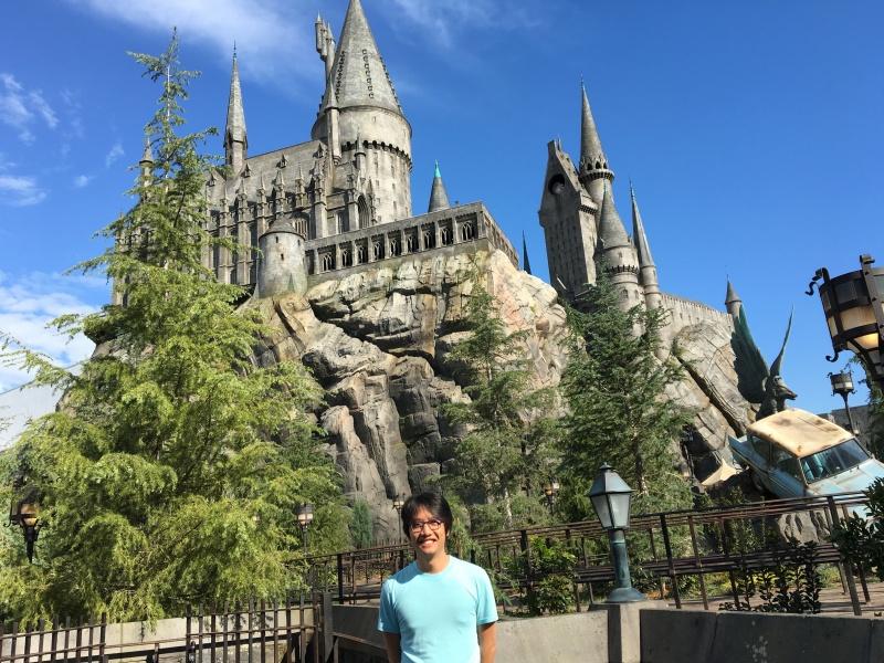 Billy at Hogwarts