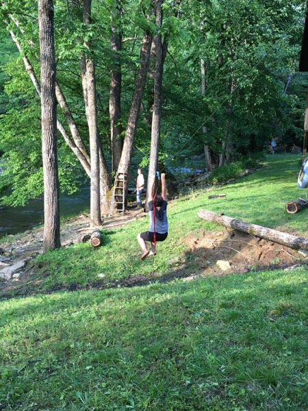 Kestin's favorite outdoor activity!