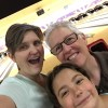 Family selfie at Friday night bowling!