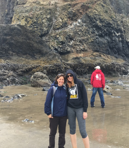 This is the big rock on the beach in the movie Goonies.