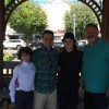 Three generations of our family on Father's Day