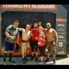 Luis loves participating in Tough Mudder. Here is is in his 6th with friends.