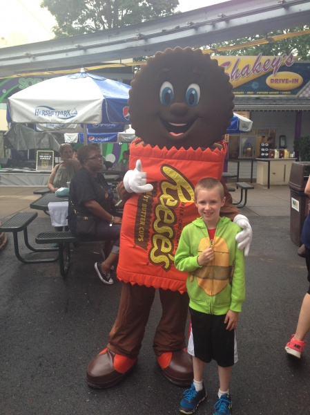 Annual trip to Hershey Park.  This is Brandon's most favorite place in the world.