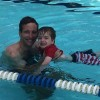 Swimming with Dad
