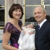 Our Goddaughter's christening