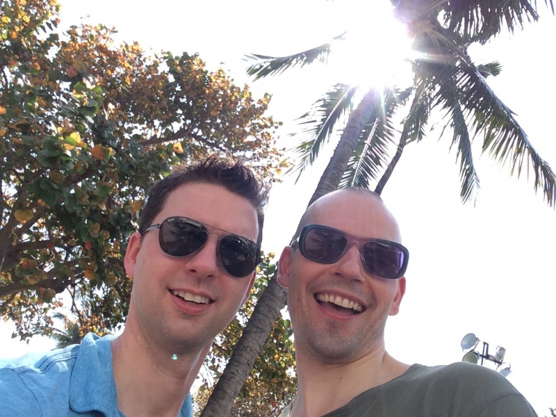 We visited Miami last winter--which was a blast.