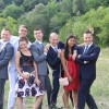 Our siblings at our wedding in France