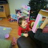 Christmas at home with Bethany's family