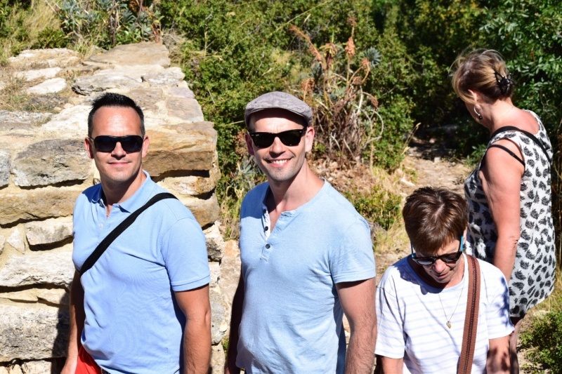 Walking in Provence with Guillaume's family