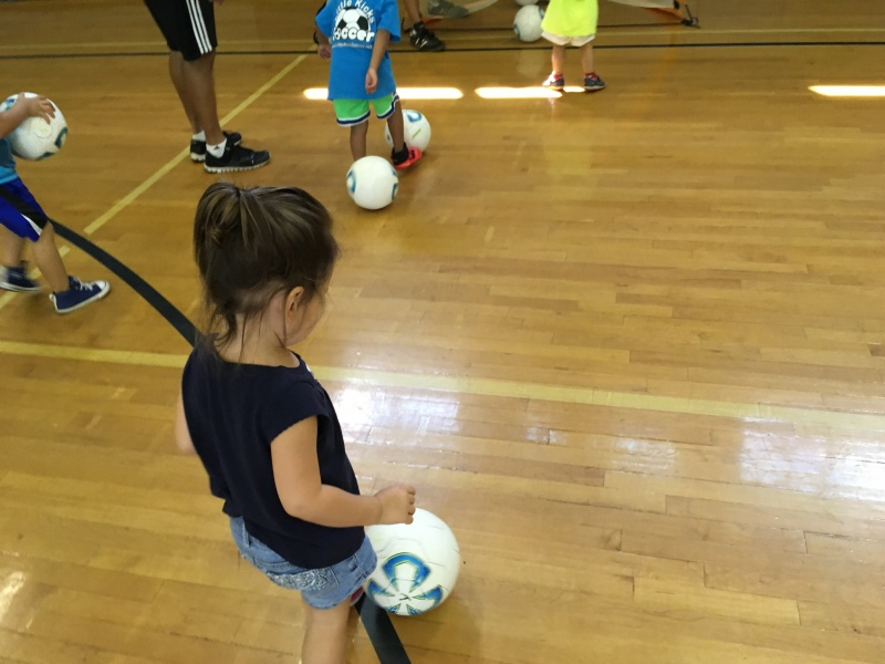 Aria's soccer practice