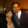 "Guillaume and sister-in-law, Mere, as ""the Artist"" movie cast, mais oui!"
