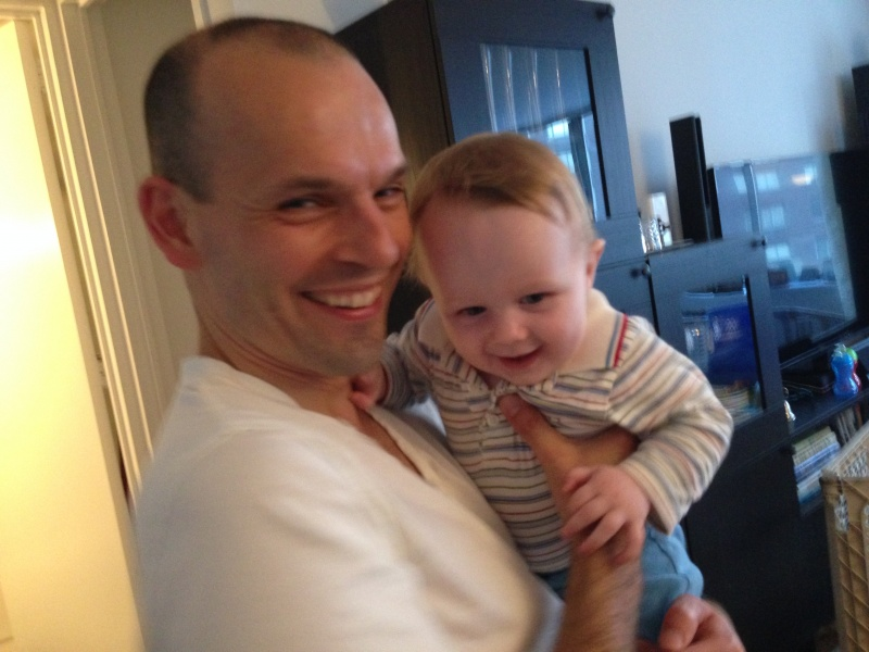 Guillaume and Charles, our best friends' son