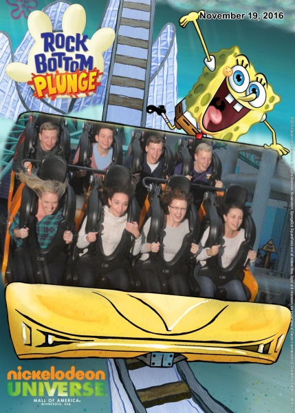 Kristia with her cousins on one of the roller coasters at Mall of America (just a few min from our house).   Wheeee!