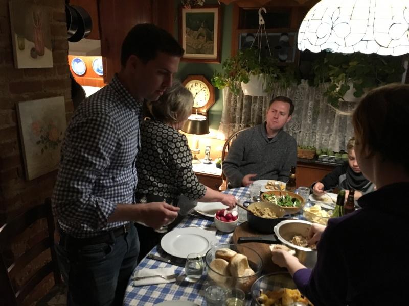 Pre-Thanksgiving dinner