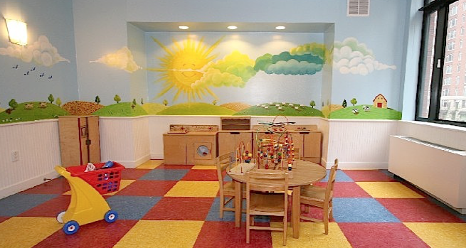 Children's Playroom in our Building