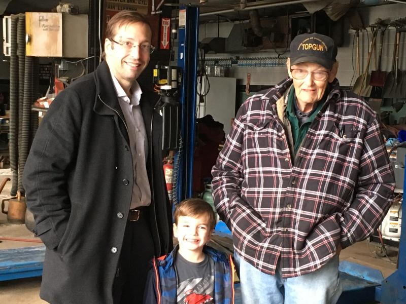 Three generations of Jameses
