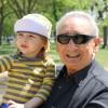 Dad with my nephew