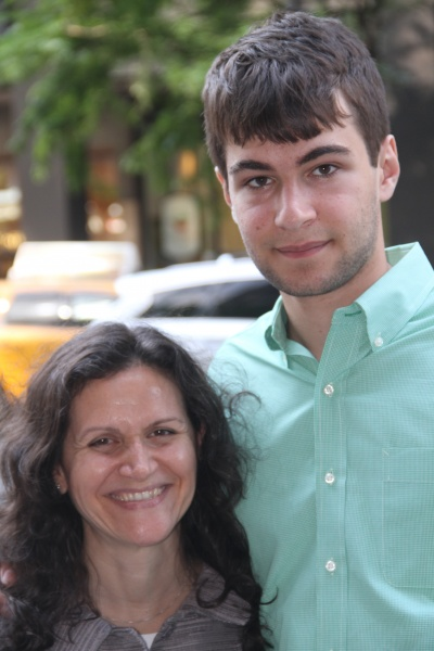 My ex's older son and I