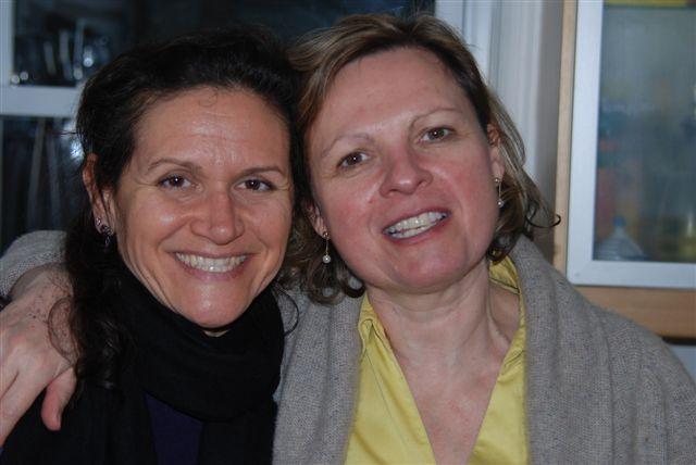 With dear German cousin Jacqueline