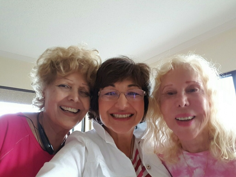 Mom and dear aunt and cousin
