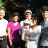 Bike ride with Bethany's parents and grandpa