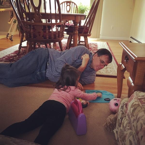 Puzzle with Grandpa