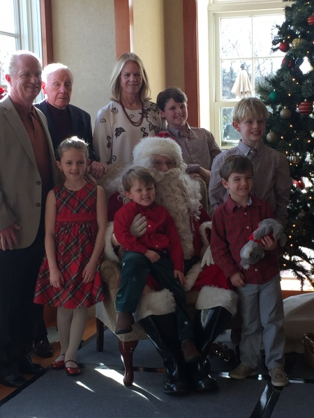 Family.  And Santa, of course!